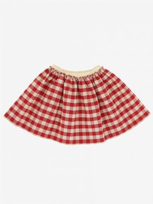 Douuod Checkered Skirt