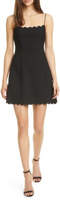 LIKELY Carter Scalloped Fit & Flare Dress