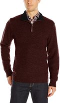 Pendleton Men's Shetland Quarter-Zip Sweater