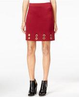 Kensie Grommet Pencil Skirt