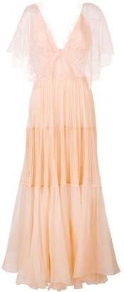 Maria Lucia Hohan Tarika ruffle maxi dress