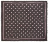 Versace Black & Pink Medusa Modal Scarf