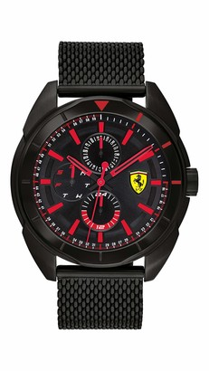 Ferrari Men's Forza Quartz Watch with Stainless Steel Strap