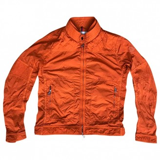 Moncler Classic Orange Polyester Jackets