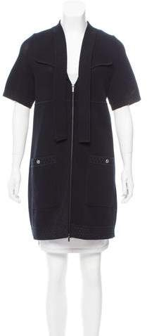 Chanel Short Sleeve Mini Dress