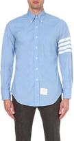 Thom Browne striped detail cotton shirt