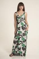 Sweetees Carlynn Maxi Dress in Green