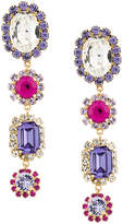 Dolce & Gabbana gemstone and crystal drop earrings