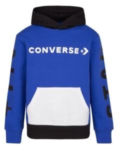 Converse Big Boys Fleece Pullover Hoodie