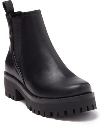 Steve Madden Hartie Leather Chelsea Boot