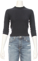 Autumn Cashmere Open Tie Back Crop Sweater