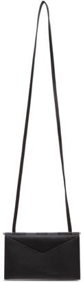 Bottega Veneta Black Flap Mini Bag
