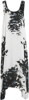 Enza Costa Printed satin dress