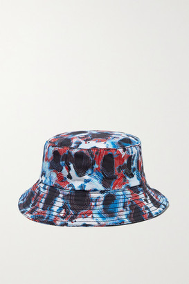 Thorsun Kids - Printed Cotton-canvas Bucket Hat - Blue