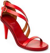 Chloé Hot Coral Niko Strappy Sandals