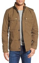 Jeremiah Men's 'Paxton' Military Jacket With Stowaway Hood