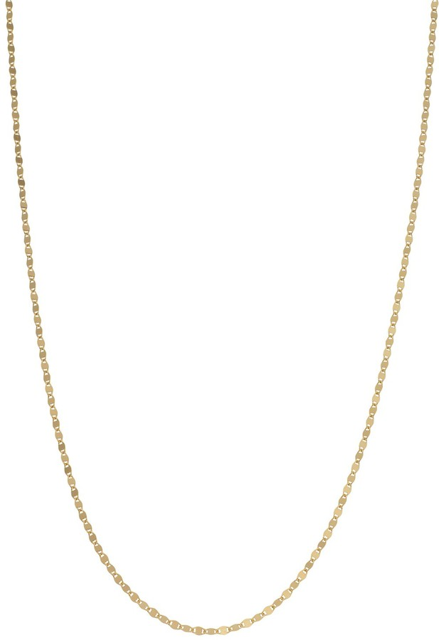 447eeb6f6770e 24k Gold Over Silver Disc Chain Necklace