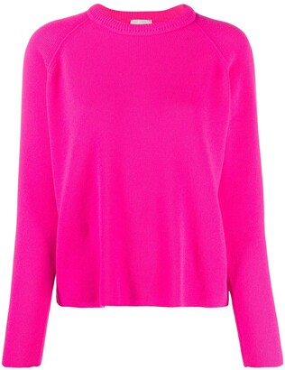 Forte Forte Raglan-Sleeves Crew-Neck Jumper