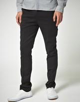Asos Design Skinny Fit Black Suit Pants in Wool Blend