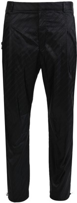 Givenchy Tonal Logo Print Trousers Black