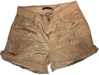 Ralph Lauren Beige Silk Shorts for Women