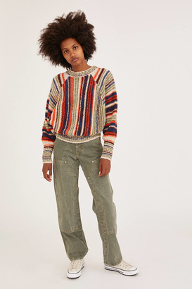 Urban Outfitters Falcon Striped Dolman Sweater