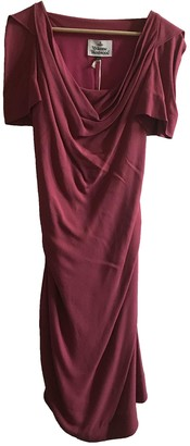 Vivienne Westwood Burgundy Dress for Women