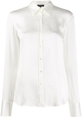Antonelli Fitted Silk Shirt