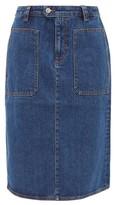 A.P.C. Nevada Denim Skirt - Womens - Denim