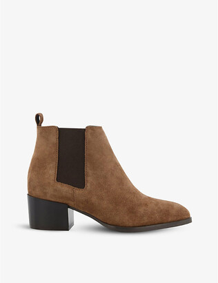 Dune Payger suede ankle boots