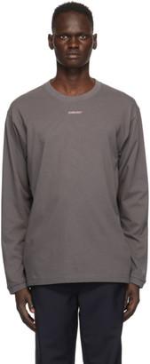 Ambush Grey XL Logo Long Sleeve T-Shirt