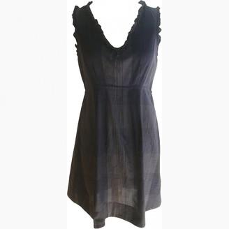 Comptoir des Cotonniers Grey Cotton Dresses
