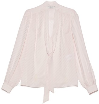 Givenchy All Over Logo Blouse