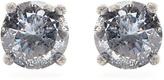 Bottega Veneta Cubic-zirconia and silver earrings