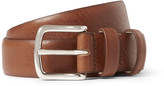 A.p.c. - 3cm Brown Jeremy Leather Belt