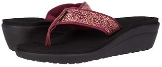 Teva Voya Wedge (Motif Blackout) Women's Shoes