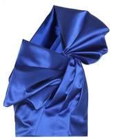Saint Laurent Silk-satin one-shoulder blouse