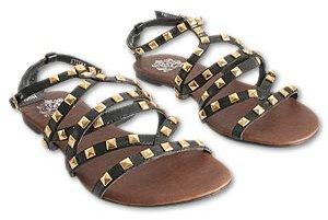 Jeffrey Campbell Black Athena Sandals