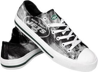 Women's New York Jets Tie-Dye Canvas Shoe