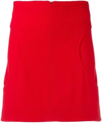 Courreges Curved Pocket Skirt