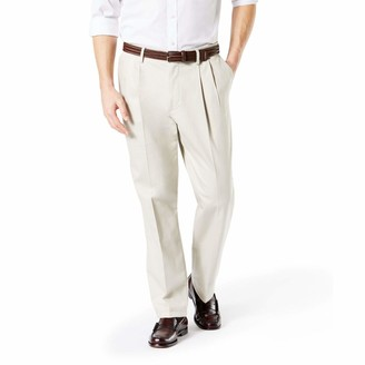 Dockers Big & Tall Signature Khaki Pleated Pant