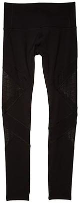 Lorna Jane Faster Full Length Leggings (Black) Women's Casual Pants
