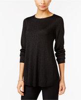 Alfani Petite Metallic Sweater, Only at Macy's