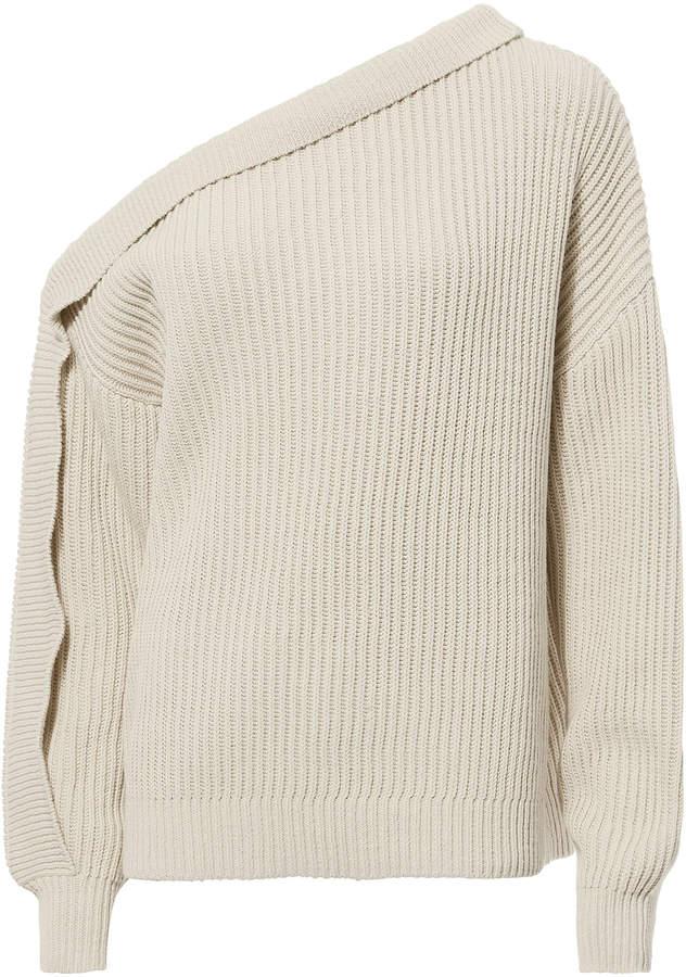 Designers Remix Curtis One Shoulder Sweater