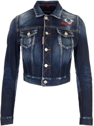 DSQUARED2 Twiggy Denim Jacket