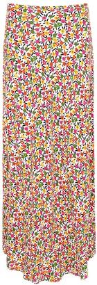 Rixo Kelly floral-print midi skirt