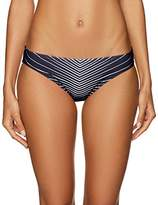 Vince Camuto Women's Miter Stripes Classic Bikini Bottom
