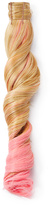 Hairdo. by Jessica Simpson & Ken Paves Ginger Blonde & Pink Wavy Ponytail Hair Extension