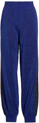 Gucci Fine Wool Lurex Track Pants