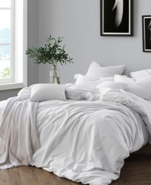 Cathay Home, Inc Yarn Dyed King/California King Duvet Cover Set Bedding